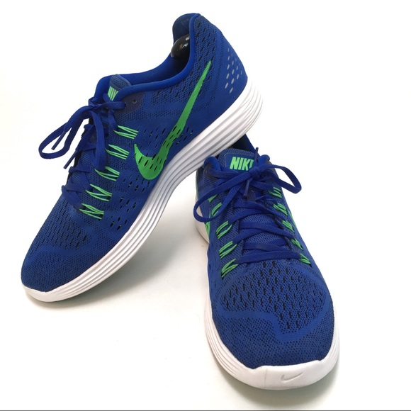 3c456fa3f38f Nike Lunarlon Tennis Shoes Sz 11.5 Blue Men s